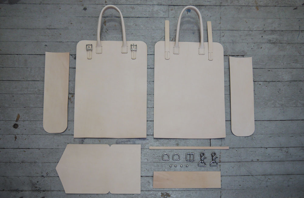 Making of a Leather Tote