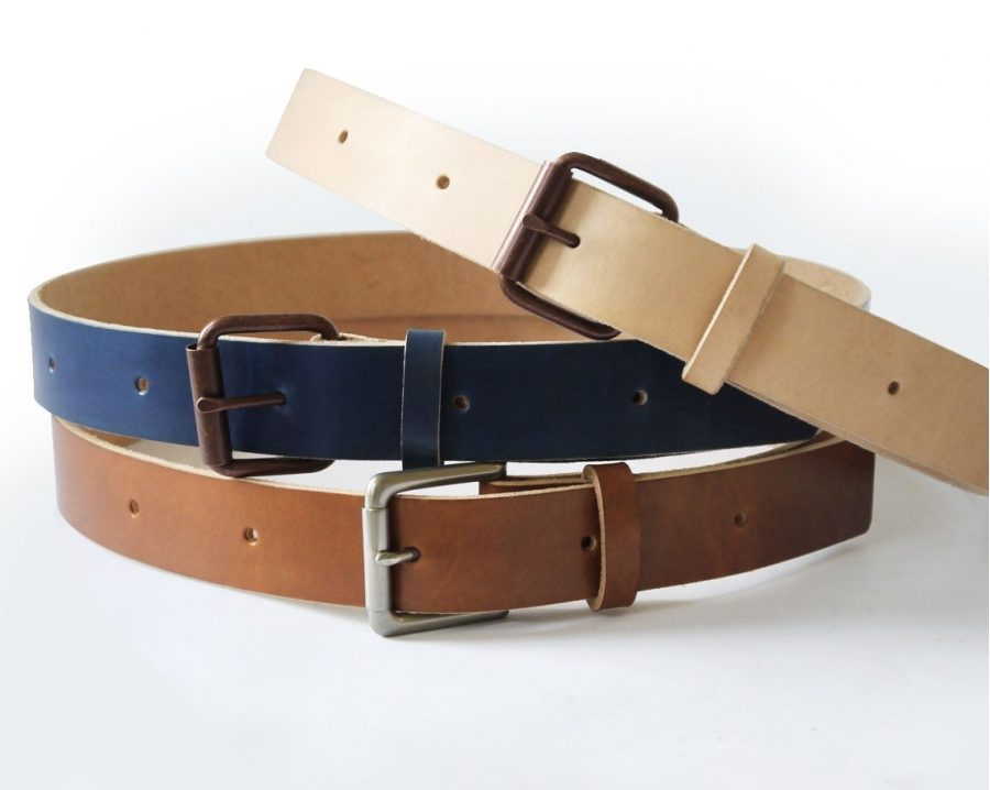 Mens Handmade Belts, Leather